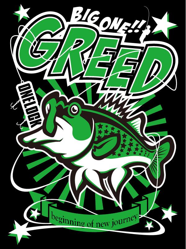 GREED Tシャツデザイン