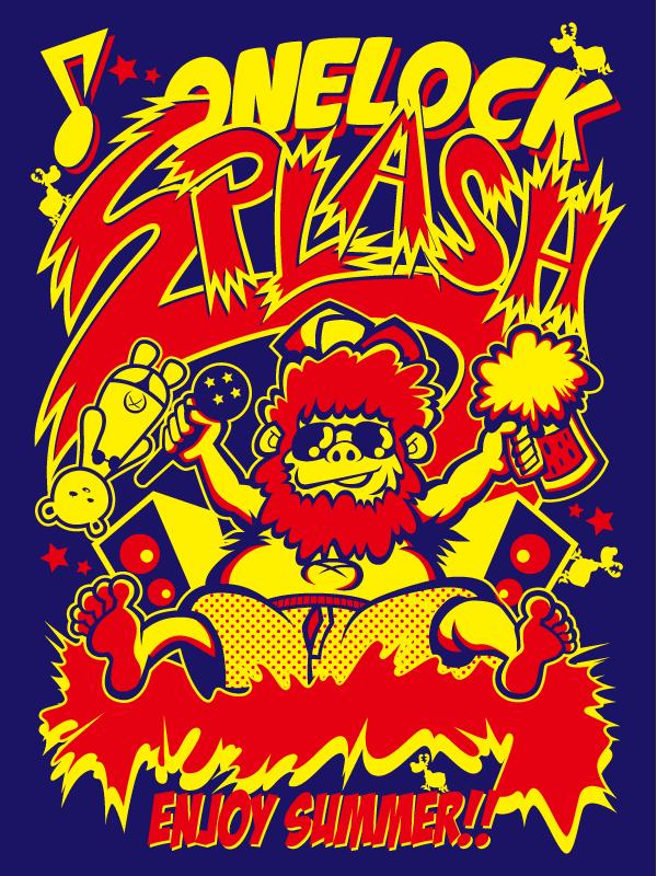 SPLASH Tシャツデザイン