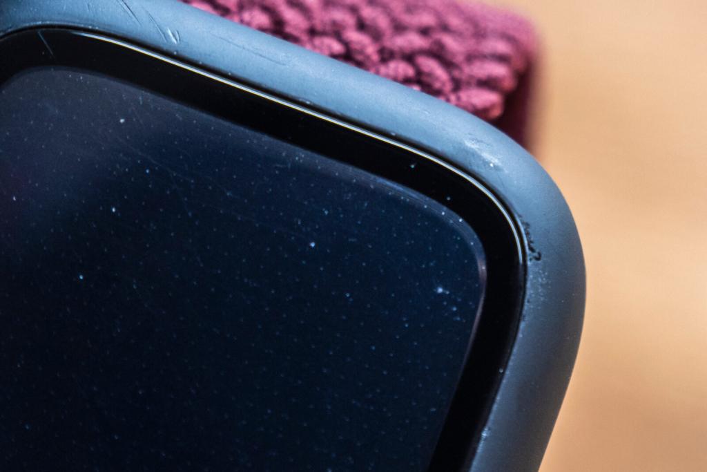2ヶ月使用した『BARIOUS BARIGUARD3 for AppleWatch』の塗装剥がれ